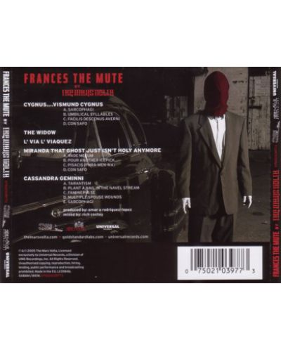 The Mars Volta - Frances the Mute (CD) - 2