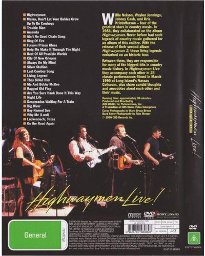 The Highwaymen - The Highwaymen Live - (DVD) - 2