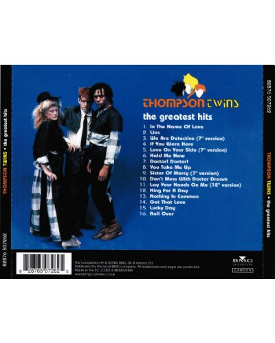 Thompson Twins - The Greatest Hits - (CD) - 2