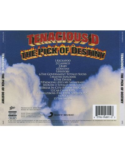 Tenacious D - The Pick Of Destiny - (CD) - 2