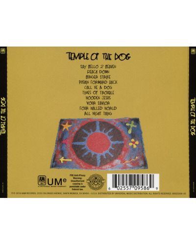 Temple of the Dog - Temple of The Dog - (CD) - 2