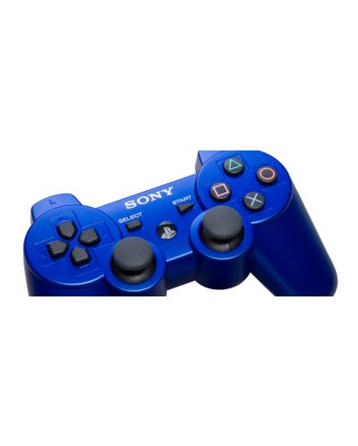 DUALSHOCK 3 Wireless Controller - Metallic Blue - 3