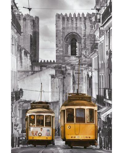 Puzzle Educa de 1000 mini piese - Zona Alfama, Lisabona, miniatura - 2