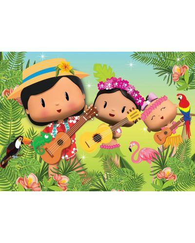 Puzzle Art Puzzle de 50 piese - Pepee's Forest Musical - 2