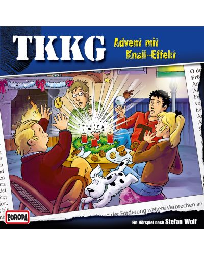 TKKG - 165/Advent mit Knall-Effekt - (CD) - 1