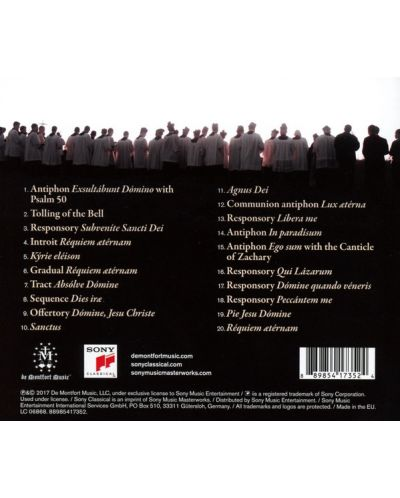 The Fraternity - Requiem - (CD) - 2