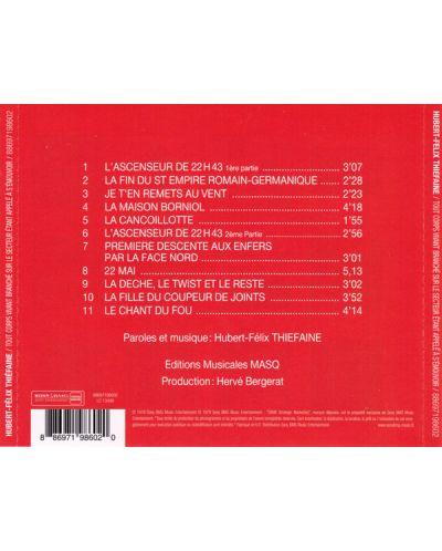 Hubert-Felix Thiefaine - ...tout corps vivant branche sur Le sect - (CD) - 2