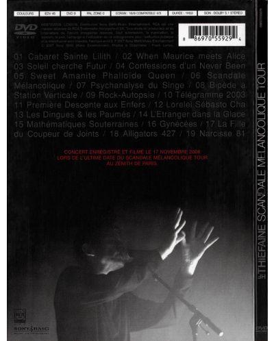 Hubert-Felix Thiefaine - Scandale Melancolique Tour - (DVD) - 2