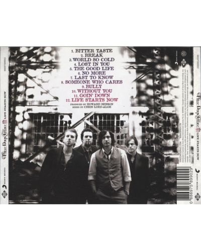 Three Days Grace - Life Starts Now - (CD) - 2