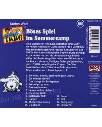 TKKG - 159/Boses Spiel Im Sommercamp - (CD) - 2