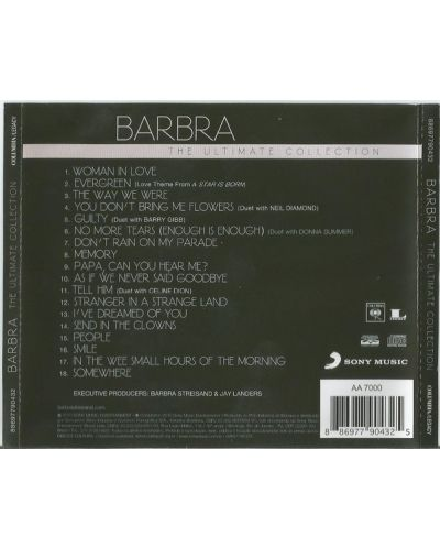 Barbra Streisand - The Ultimate Collection (CD) - 2