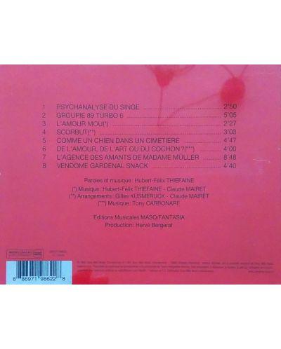 Hubert-Felix Thiefaine - De l'amour, De l'art ou Du cochon - - (CD) - 2