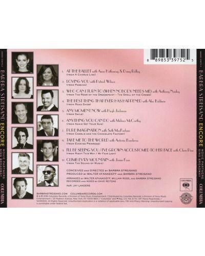 Barbra Streisand - Encore: Movie Partners Sing Broadway (CD) - 2