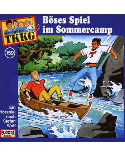 TKKG - 159/Boses Spiel Im Sommercamp - (CD) - 1