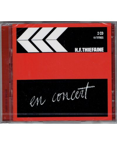 Hubert-Felix Thiefaine - En concert, Vol. 1 - (2 CD) - 1