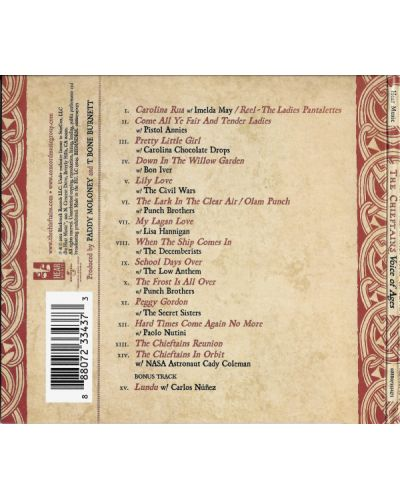 The Chieftains - Voice Of Ages - (CD) - 2