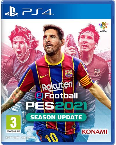 eFootball PES 2021 Season Update (PS4) - 1