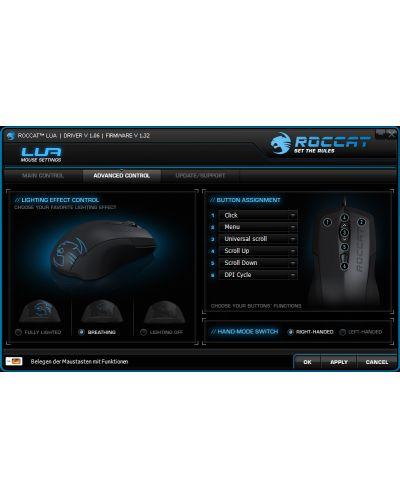 Gaming mouse Roccat - Lua, neagra - 8