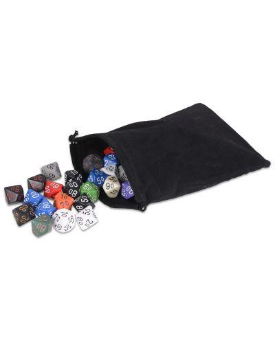 Zar  Chessex D10 cu procente, netransparent, culoare aleatorie - 2