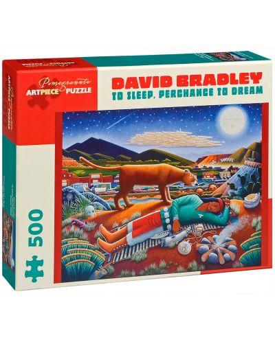 Puzzle Pomegranate de 500 piese - Dormi si poate visezi, David Bradley - 1