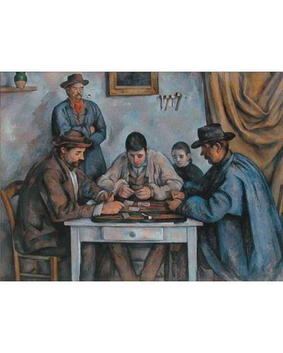Puzzle Pomegranate de 1000 piese - Jucatori de carti, Paul Cézanne - 2