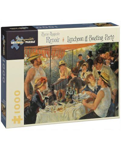 Puzzle Pomegranate de 1000 piese - Pranz la petrecerea de pe nava, Pierre Renoir - 1