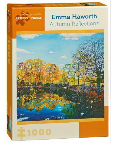 Puzzle Pomegranate de 1000 piese - Reflectia de toamna, Emma Haworth - 1