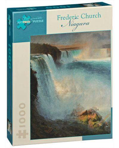 Puzzle Pomegranate de 1000 piese - Niagara, Frederic Church - 1