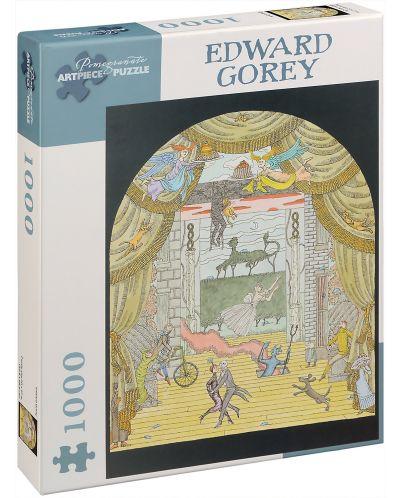 Puzzle Pomegranate de 1000 piese - Teatru, Edward Gorey - 1