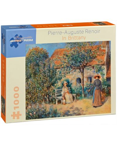 Puzzle Pomegranate de 1000 piese - In Bretania, Pierre Renoir - 1