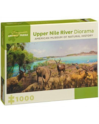 Puzzle Pomegranate de 1000 piese - In partea superioara a Nilului - 1