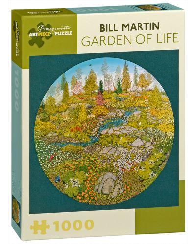 Puzzle Pomegranate de 1000 piese - Gradina vietii, Bill Martin - 1