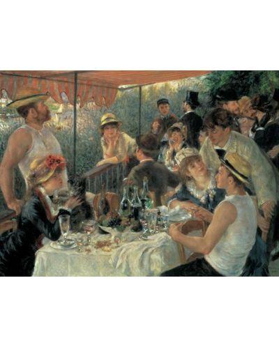 Puzzle Pomegranate de 1000 piese - Pranz la petrecerea de pe nava, Pierre Renoir - 2