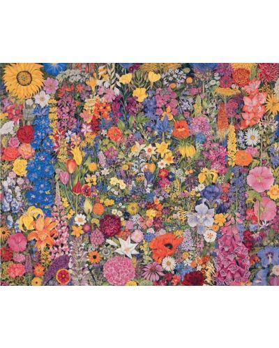 Puzzle Pomegranate de 1000 piese - Cerc de flori, Rosalind Wise - 2