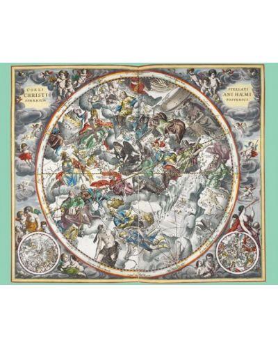 Puzzle Pomegranate de 1000 piese - Harta cerurilor, Andreas Cellarius - 2