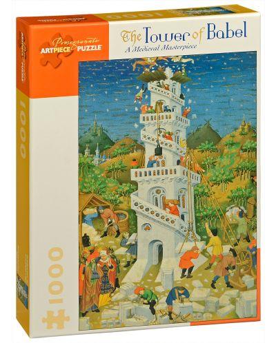 Puzzle Pomegranate de 1000 piese - Turnul Babel - 1