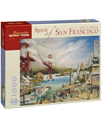 Puzzle Pomegranate de 1000 piese - Viata in San Francisco, Larry Wilson - 1