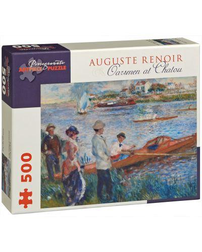 Puzzle Pomegranate de 500 piese - Vaslasi in Chatou, Pierre Renoir - 1