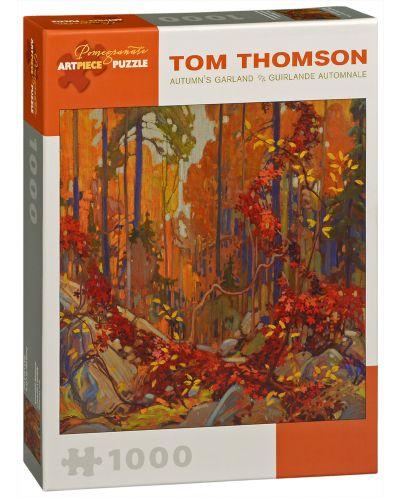 Puzzle Pomegranate de 1000 piese - Coroana toamnei, Tom Thomson - 1