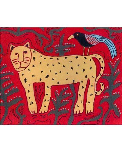 Puzzle Pomegranate de 100 piese - Leopard si prieten, Gabriella Denton - 2