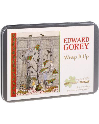 Puzzle Pomegranate de 100 piese - Impacheteaza-l, Edward Gorey - 1