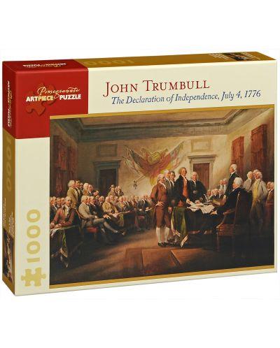 Puzzle Pomegranate de 1000 piese - Declaratia de independenta, John Trumbull - 1