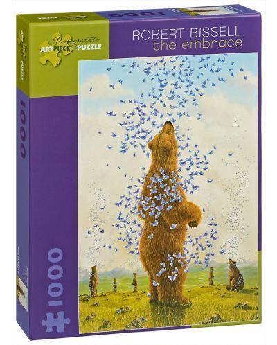 Puzzle Pomegranate de 1000 piese - Imbratisarea, Robert Bissell - 1