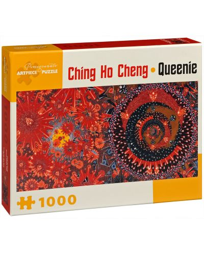 Puzzle Pomegranate de 1000 piese - Mica regina, Ching Ho Chang - 1