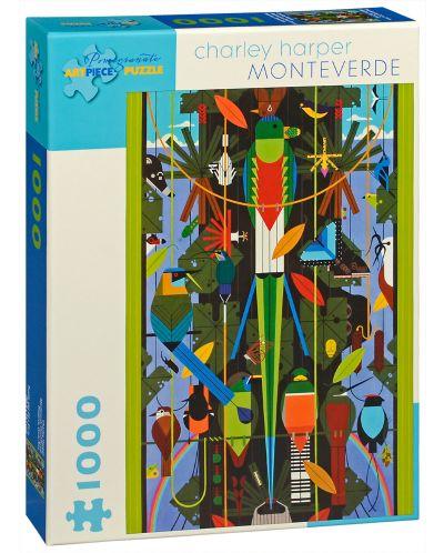 Puzzle Pomegranate de 1000 piese - Monte Verde, Charley Harper - 1