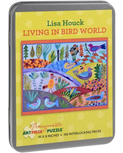 Puzzle Pomegranate de 100 piese - Lumepasarilor, Lisa Hawke - 1