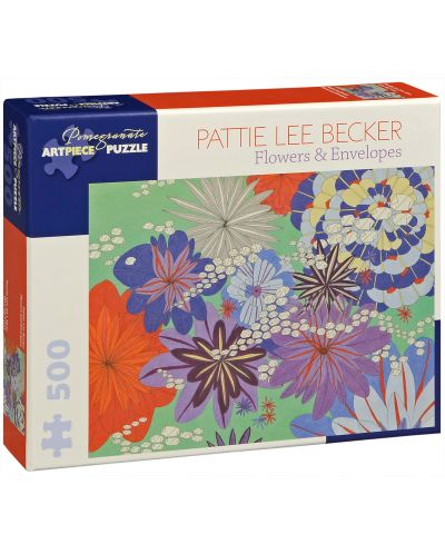 Puzzle Pomegranate de 500 piese - Flori si plicuri, Pattie Lee Becker - 1