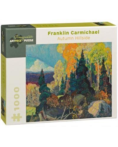 Puzzle Pomegranate de 1000 piese -Partii de toamna, Franklin Carmichael - 1