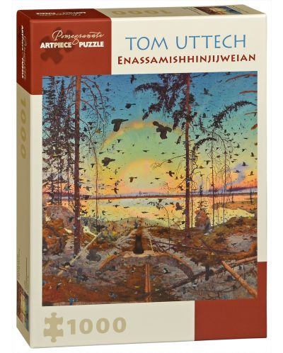 Puzzle Pomegranate de 1000 piese - Speranta, Tom Uttech - 1