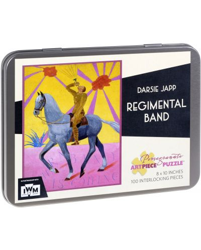 Puzzle Pomegranate de 100 piese - Regimental Band, Darsie Japp - 1